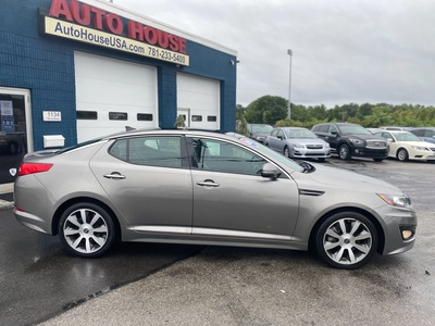 2013 Kia Optima SX w/Chrome Limited Pkg