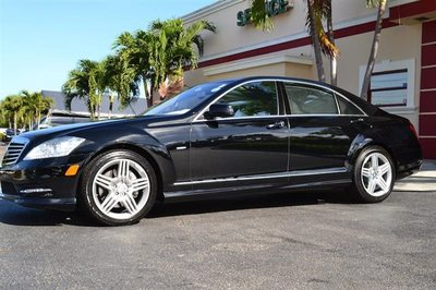 2012 Mercedes-Benz S-Class 4dr Sedan S550 RWD