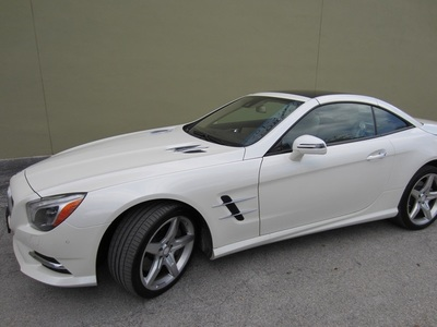 2014 Mercedes-Benz SL550 Convertible